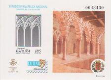 ESPAÑA 1999, PRUEBA DE LUJO 15. PRUEBA OFICIAL 68. Motivo: EXFILNA99