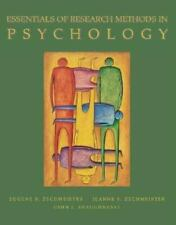 Essentials of Research Methods in Psychology, Zechmeister, Eugene, Shaughnessy,