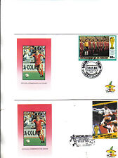 2 1986 world cup first day covers featuring poland