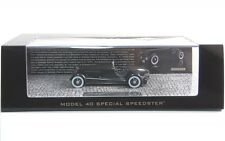 Edsel Ford 's model 40 Speedster early version (Black) 1934