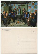 32567 - Alte Volkstracht in Scheeßel - Am Herdfeuer - alte Ansichtskarte