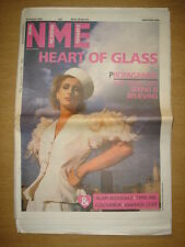 NME 1985 AUG 24 MAT SNOW ALAN BLEASDALE COLOURBOX IRIE