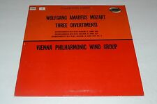 Wolfgang Amadeus Mozart~Three Divertimenti~Vienna Philharmonic Wind Group~W9059
