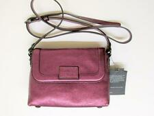 MARC BY MARC JACOBS METALIC WINE ABBOTT & BLAZE CROSSBODY BAG - $198 RET.