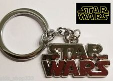 STAR WARS LOGO Full Metal Key chain Keychain Chrome collectible cosplay us selle