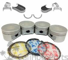 01-05 Honda Civic 1.7L D17A2 D17A8 PISTONS + RINGS KIT + ENGINE BEARINGS (1 SET)