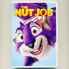 Nut Job 2014 PG animated family comedy movie, new DVD heist, squirrel, dog, kids