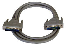 5 Metre 25-pin Male-Male Parallel Printer Cable DB25 25 Pin Lead Serial RS232