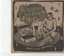 (FX128) Benjamin William Pike, Devil On My Shoulder - DJ CD