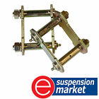 NEW REAR GREASABLE SWINGING SHACKLE KIT HOLDEN RODEO 4X2 RA INC. COLORADO