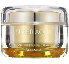 New 2016 Missha Super Aqua Cell Renew Snail Cream - 47ml