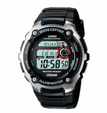 Casio Digital Atomic Waveceptor Watch, 200 Meter WR, World Time, WV200A-1AV