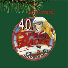 """Speed Racer 40th Anniversary  """"Theme Song""""   Musical  Carlton Cards Ornament"""