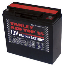 Varley rouge top 25 batterie-Racing / ovale / RALLYE / motorsport / dry cell / léger