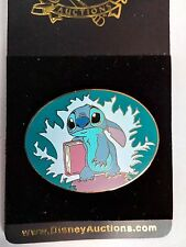 Disney Auctions Stitch with Book LE Pin