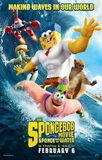 The Spongebob Film Éponge Out Of Water Double Face ORIGINAL Film AFFICHE