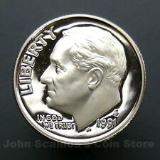 1991-S Roosevelt Dime - Gem Proof Deep Cameo U.S. Coin