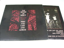 SISTERS OF MERCY - FIRST AND LAST AND ALWAYS - LP ITALY