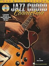 Jazz Chord Connection Learn to Play Guitar Voicings TAB Music Book & CD