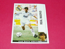 AMAVISCA FUTBOL REAL MADRID PANINI LIGA 95-96 ESPANA 1995-1996 FOOTBALL