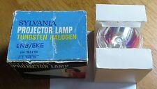 SYLVANIA, TUNGSTEN HALOGEN PROJECTOR  LAMP, ENB/EKE 21.5V 150 W. NEW OLD STOCK.