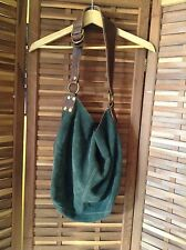 Lucky Brand Vintage Style Suede Leather Purse Crossbody Bag Boho Hippy Festival