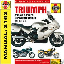 Triumph Thunderbird 1200 1000 750 900 Legend TT 91-04 Haynes Manual 2162 NEW