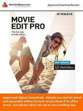 MAGIX Movie Edit Pro 2017 - (Approved Digital Download) for Windows PC