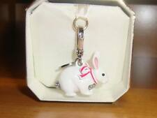 NEW JUICY COUTURE SNOW EASTER BUNNY CHARM FOR BRACELET, NECKLACE, HANDBAG