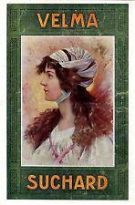 SUCHARD * VELMA * Ganzseitige schöne Farbanzeige (Annonce) von 1909