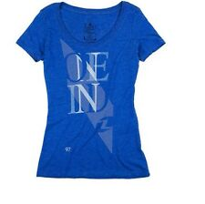 One Industries Women's Luchie Scoop Neck T-Shirt. Royal Blue. Size S.