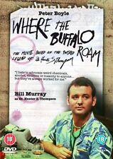 WHERE THE BUFFALO ROAM  UK DVD    NEW/SEALED BILL MURRAY  DRUGS