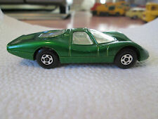 1969 Matchbox Superfast Dark Green FORD GROUP 6 Car #45 w/#45 Decal MINTY