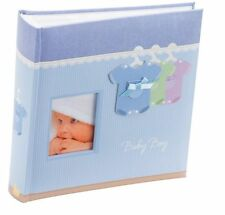 "Kenro Baby Boy Outfit Photo Album 200 6x4""/10x15cm Blue New Born Baby GiftKB102U"