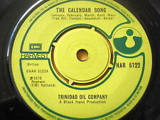 "TRINIDAD OIL COMPANY - THE CALENDAR SONG  7"" VINYL"
