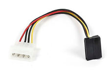 "Monoprice 8798 8"" SATA 15pin Female to Molex 4pin Male Power Adapter 90 Degree"