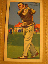 C J H TOLLEY GALLAHER PARK DRIVE CIGARETTE CARD CHAMPIONS 2nd SERIES #47 cricket
