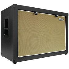 "Seismic Audio 2x12 GUITAR SPEAKER CAB EMPTY 212 Cabinet NEW 12"" Tolex"