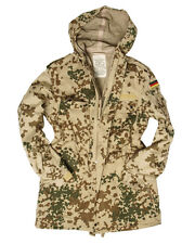 Original german BW  combat jacket parka desert tropical camo flecktarn Size L-XL