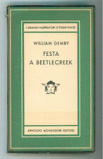 DEMBY WILLIAM FESTA A BEETLECREEK  MONDADORI 1950 I° EDIZ. MEDUSA 243
