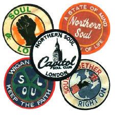 5  NORTHERN SOUL  BADGES.