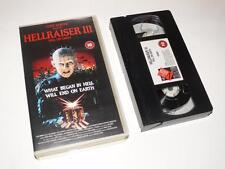VHS Video ~ Hellraiser III: Hell On Earth ~ Clive Barker ~ Terry Farrell