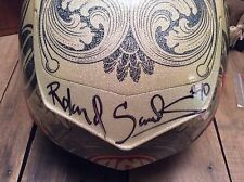 "New AUTOGRAPHED Bell Star Carbon RSD ""C-Note"" Helmet - Large - Collector Item!"