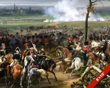 BATTLE OF HANAU PAINTING NAPOLEON FRENCH EMPIRE AUSTRIA WAR ART CANVAS PRINT