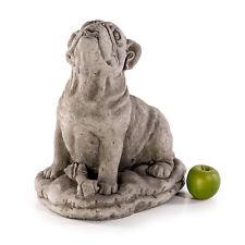 Bouledogue grès chiens animaux pierre personnages sculpture jardin personnage 772807