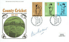 Alec BEDSER Signed Autograph County Cricket First Day Cover 2 FDC COA AFTAL