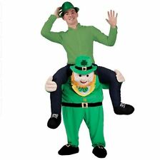Carry Me IRISH LEPRECHAUN Ride On Xmas Mascot Fancy Dress Costume Halloween