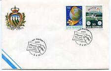 1991-04-09 San Marino Piacere Rai uno ANNULLO SPECIALE Cover