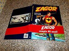 CARTONATO ZAGOR CONTRO IL RE DELLE AQUILE 1° EDIZIONE 2001 MONDADORI DA EDICOLA