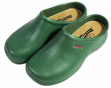 Town & Country EVA Jardín Al Aire Libre Zapatos Cloggies ligero-Verde-UK Size 11